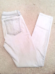 "RAG & BONE ""The Skinny"" Jeans, Faded Grey/White, Wedge, Size 27 London Ontario image 7"