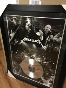 metallica picture and frame