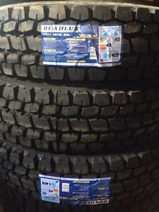 New tires 11r22.5, 11r24.5