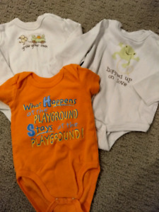 Baby Onesies - Size 3-6 Month