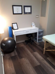 Shared office & therapy space for rent in family oriented clinic