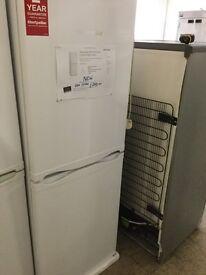 New white fridge freezer 50cm wide 152cm high