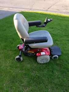 Jazzy select power wheelchair.
