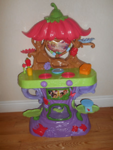 Tinkerbell's play kitchen