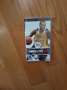 Mint PSP NBA live 2008 Game