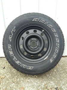 4 - Dueller A/T Bridgestone Revo 2 Tires Only two months wear