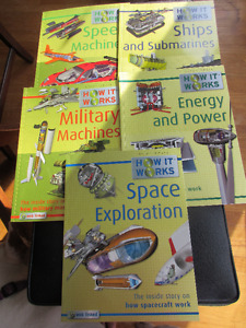 Set of 10 How it works. For the inquiring mind. Facts galore