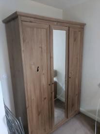 Oak style wardrobe