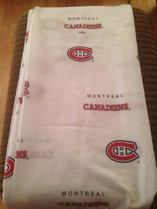 NHL Montreal Canadiens bed sheets Gatineau Ottawa / Gatineau Area image 1
