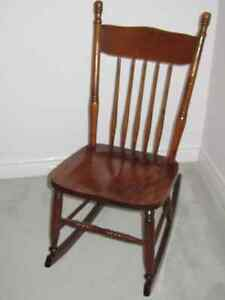 Two Antique Rocking Chairs