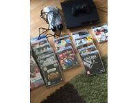Sony PlayStation 3 slim with 17 games
