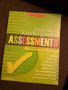Essential Kindergarten Assessments (teaching resources)
