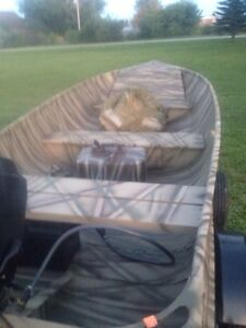 12 ft aluminum looking to trade for Jon boat