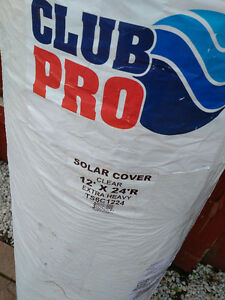 Brand New!  Only opened. Solar 14mm 12x24 pool cover