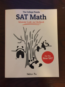 SAT Math: Advanced Guide and Workbook