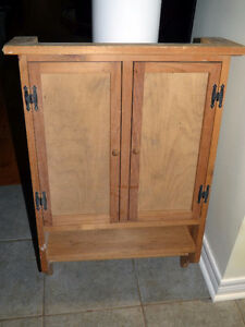 WOODEN WALL CABINET / MEDICINE CABINET