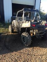 Parting our Rzr 900xp
