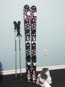 Youth Skis, boots & poles for Sale Peterborough Peterborough Area image 1