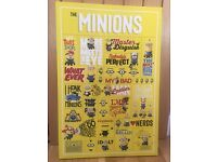 Minions poster (large canvas)