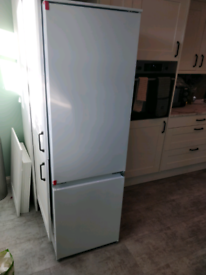 Brand new fridge freezer- delivered with cracked pipe