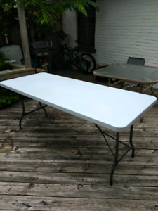 """Collapsible table 30"""" x 72"""""""