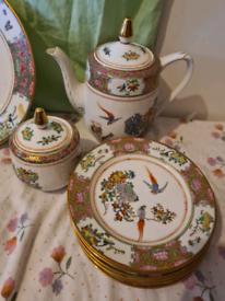 Beautiful vintage tea set (special edition)