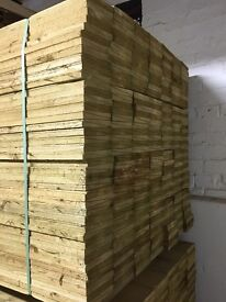 🌲High Quality Tanalised Timber/ Wooden Feather Edge Fencing Pieces/ Boards/ Panels • Various Sizes