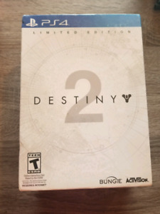 Destiny 2 PS4 limited edition game