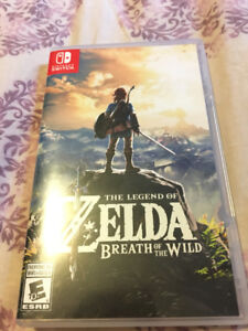 Zelda: Breath of the Wild for Switch EXCELLENT CONDITION