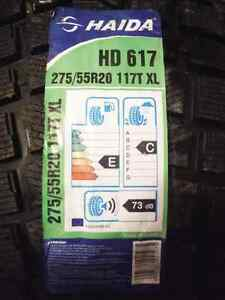 Haida Winter tires 275/55 R 20 Brand New. Super Grippy!! Prince George British Columbia image 2