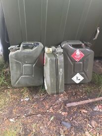 Jerry Fuel Cans (several available)