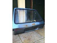 Mk2 fiesta bootlid hatch with glass mk1