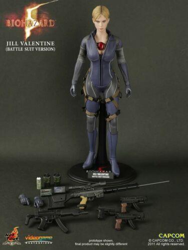 1//6 Jill Valentine head sculpt Resident Evil 5 custom hot toys kumik USA
