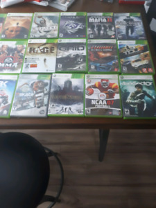 I am selling xbox 360 games