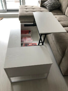 Foldable Wood Lift Top Coffee Table