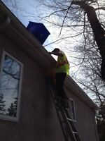 Eavestrough cleaning and property maintenance