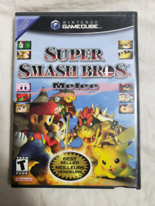 Super Smash Bros Melee Gamecube