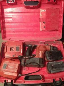 Hilti TE-6A 36v Cordless Rotary Hammer Drill With (3) Batterys