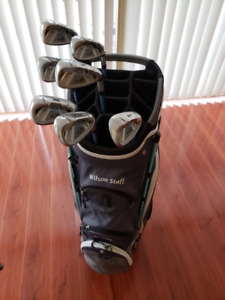New Golf Bag and Women's Cobra Used Golf Clubs