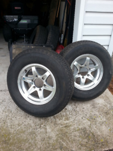 15in Trailer tires and rims 6 bolt pattern