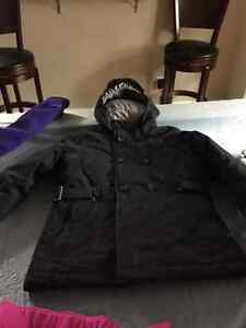 North face winter jacket and snow pants