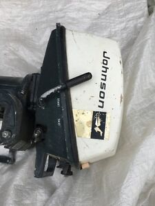 Johnson vintage boat motor 4HP