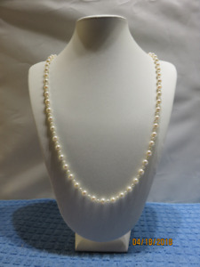 AKOYA CULTURED ROUND PEARL NECKLACE