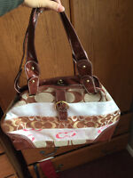 Great condition faux coach purse