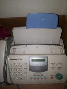 Phone and fax machine