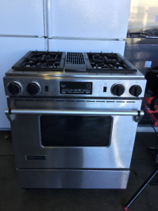 Jenn Air Stainless Steel Gas Stove