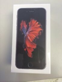**SEALED** 128GB IPHONE 6S, SIMFREE, ALL NETWORKS AND INCLUDES 1 YEAR APPLE WARRANTY.