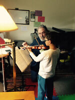 Violin Lessons NW-Experienced teacher- beginners welcome