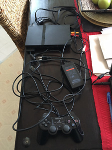 Sony PS2 Game Console with Controller (PlayStation 2)