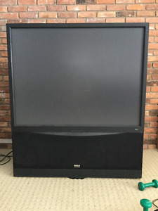 """52"""" RCA rear projection TV"""